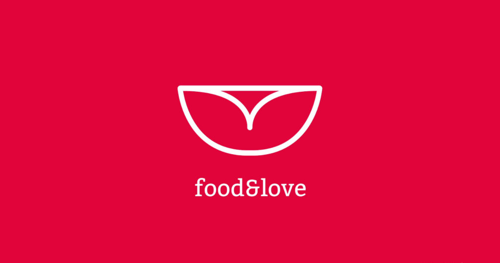 food and love logo